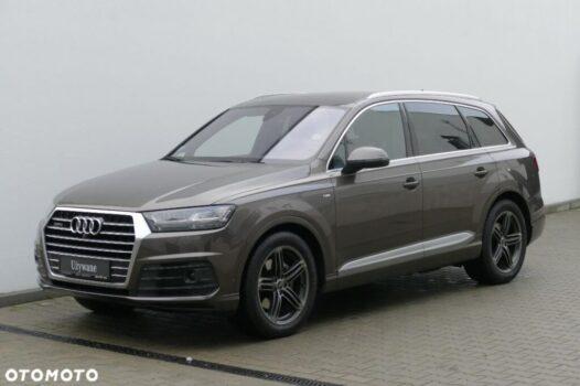 Audi Q7 3.0 TDI V6 272KM Quattro Tiptronic Salon Polska Gwarancja FV23%