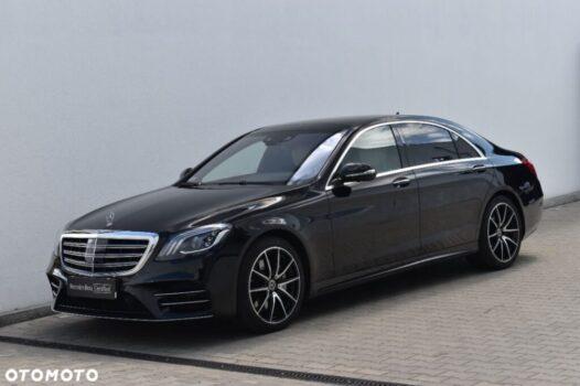 Mercedes-benz Klasa-s 400d, Long, 4Matic, aso Witman, cesja leasingu