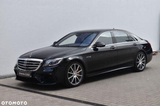 Mercedes-benz Klasa-s S63 AMG 4MATIC+ wersja LONG, aso Witman, salon Polska